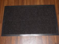 NON SLIP DOORMAT 50X80CM RUBBER BACKING GOOD QUALITY ALL COLOURS BROWNS BARGAINS
